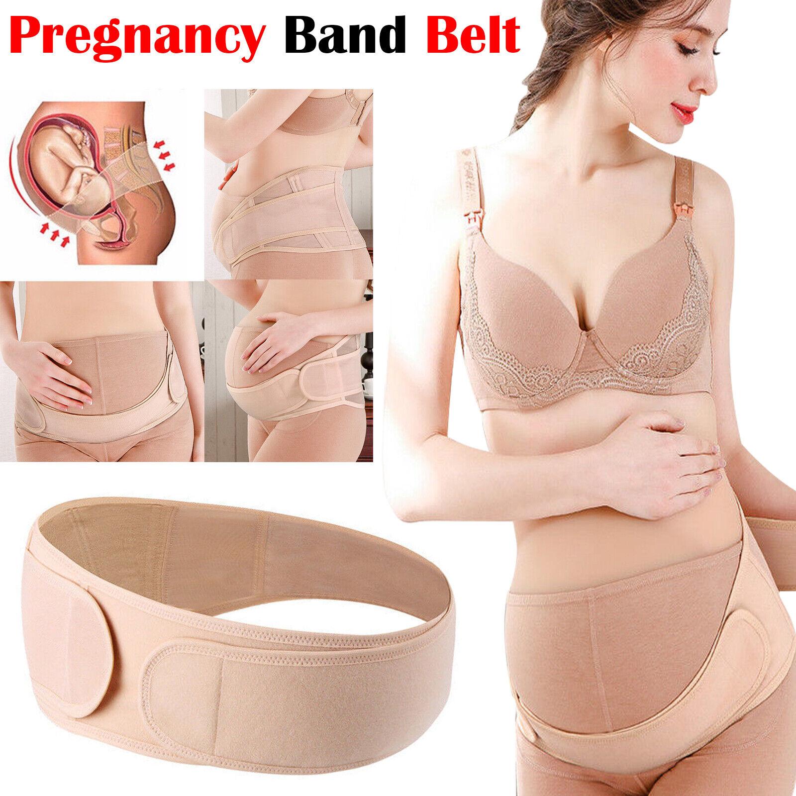 PREGNANCY BELT MATERNITY LUMBAR BACK SUPPORT WAIST BUMP BRACE UK