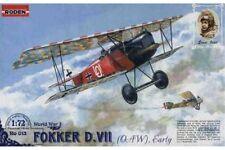 RODEN 013 1/72 Ernst Udet Fokker D.VII (OAW), Early World War I