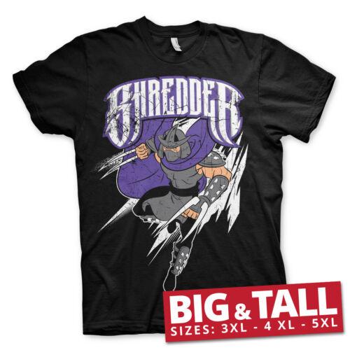 4XL 5XL Men/'s T-Shirt The Shredder BIG /& TALL 3XL Officially Licensed TMNT