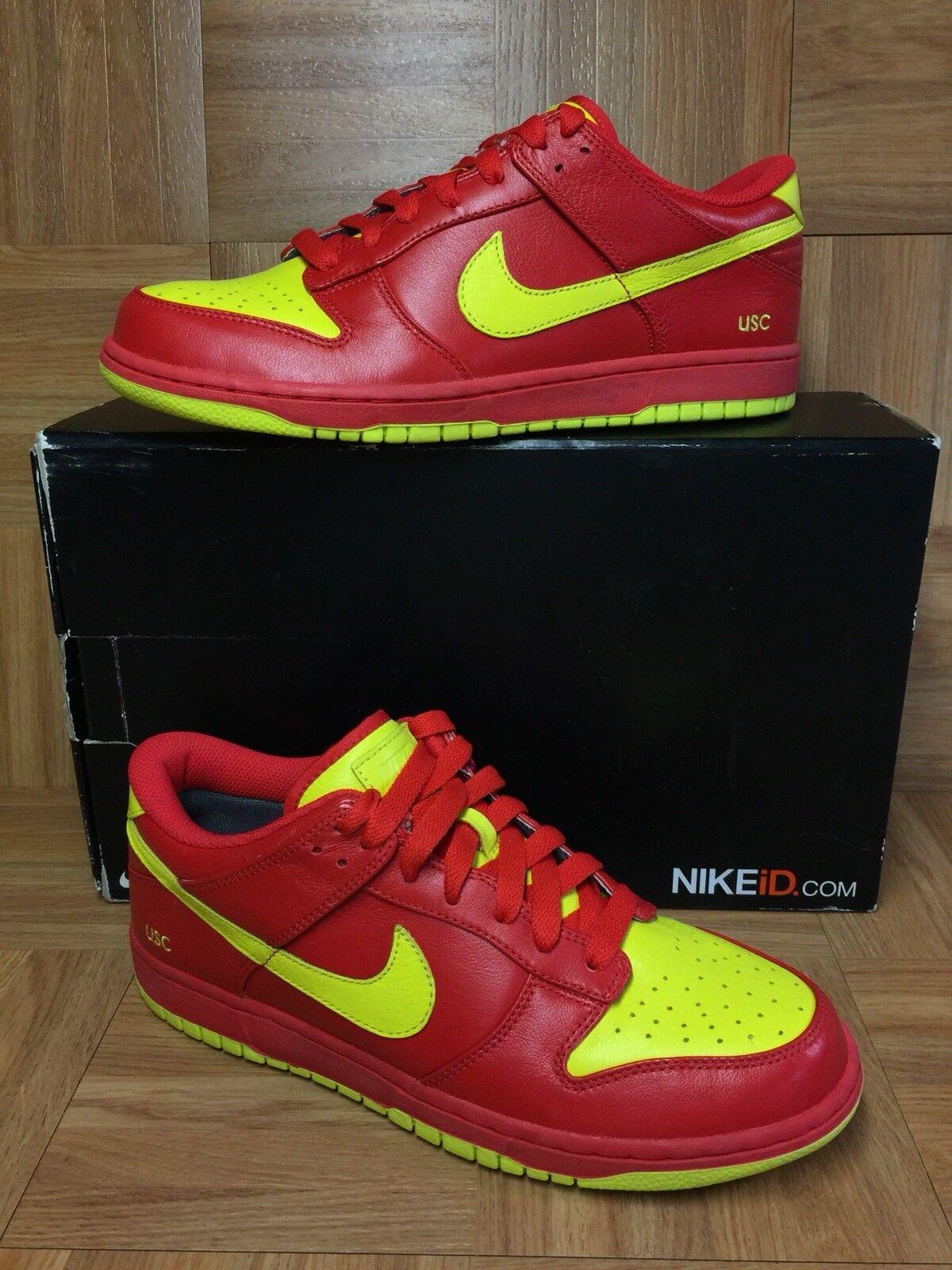 de rares nike dunk dunk dunk faible usc ironFemme colorway sz 10 rouge jaune brillante chaussures pour hommes   Acheter    Discount    Acheter    Durable  8651e7
