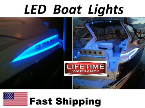 """2pcs 12/""""  $19.99 BOAT Cockpit and UNIVERSAL accent lighting LED Super BRIGHT"""