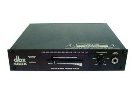 Noise Gate, dbx 463x - pair
