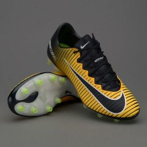 best value wide varieties amazing price Details about Nike Mercurial Vapor XI AG-Pro Soccer Cleats Boots  Orange-Volt-Black 831957-802