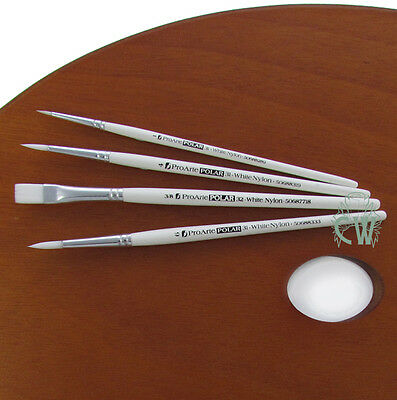 Pro Arte Artists Polar 4 Brush Set 31WA. For Watercolour, Acrylic, Oil, Inks