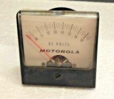 Motorola Dc Volts Panel Electrical Readout Meter Part Analog 60s Vtg 33