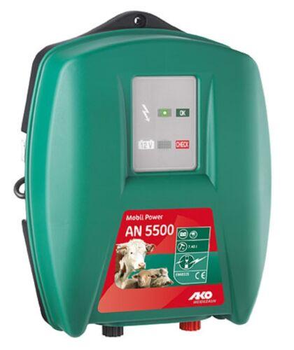 AKO Weidezaungerät AN 5500 Mobil Power 12V Netzgerät 372550 Weidetechnik