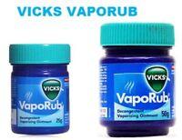 1 Vicks Vaporub Ointment 50g + Free 1 Vicks Vaporub 25g