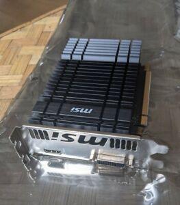 Grafikkarte MSI GeForce GT 1030 2GH OC (2 GB GDDR5, Nvidia) - passiv gekühlt
