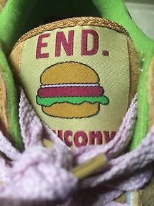 more photos b0fff 3968e Details about DS END x Saucony Shadow 5000 'Burger' Extremely Rare Size 11.5