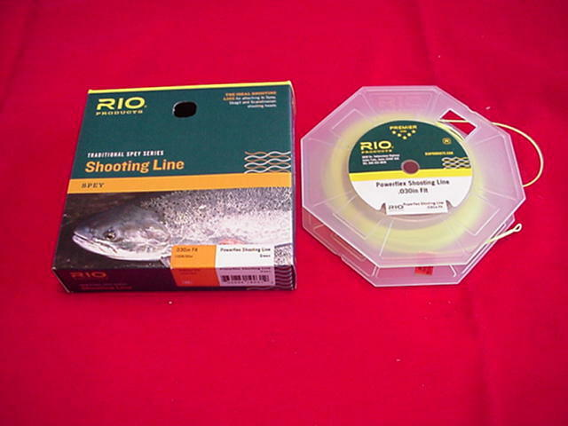 Rio Shooting Line Powerflex Floating .040 Yellow color