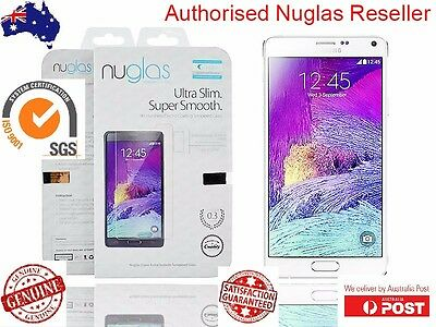 Genuine Nuglas 9HR Tempered Glass Screen film Protector for Samsung Note 3 4 5