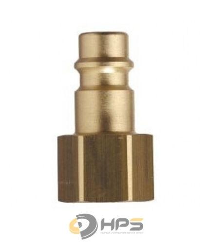 Parker RECTUS Druckluft Stecknippel Kupplungstecker IG verschiedene Größen NW7,2