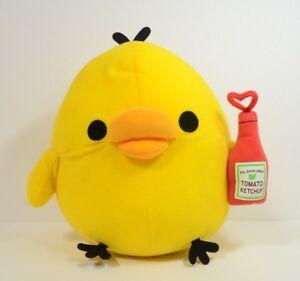 San-X-2012-Rilakkuma-Yellow-Bird-Kiiroitori-Happy-Picnic-Stuffed-doll-Plush-k58