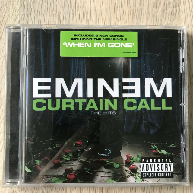Eminem: Curtain Call, hiphop, EU 2005 Shady Records Medie:…