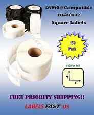 150 Rolls Dymo® Compatible Multipurpose Labels - 30332 - 750 Labels Per Roll