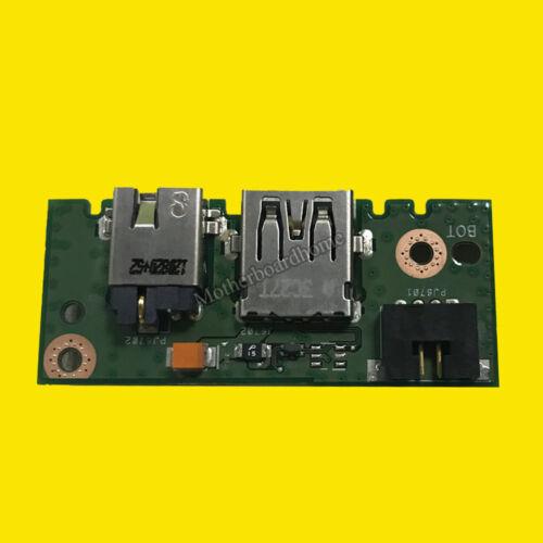 Original Fit Asus X301A X401A X501A F401A Jack USB Board IO/_Board 60-N3OIO1000