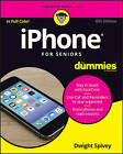 Iphone for Seniors for Dummies, 6th Edition by Dwight Spivey (Paperback, 2016)