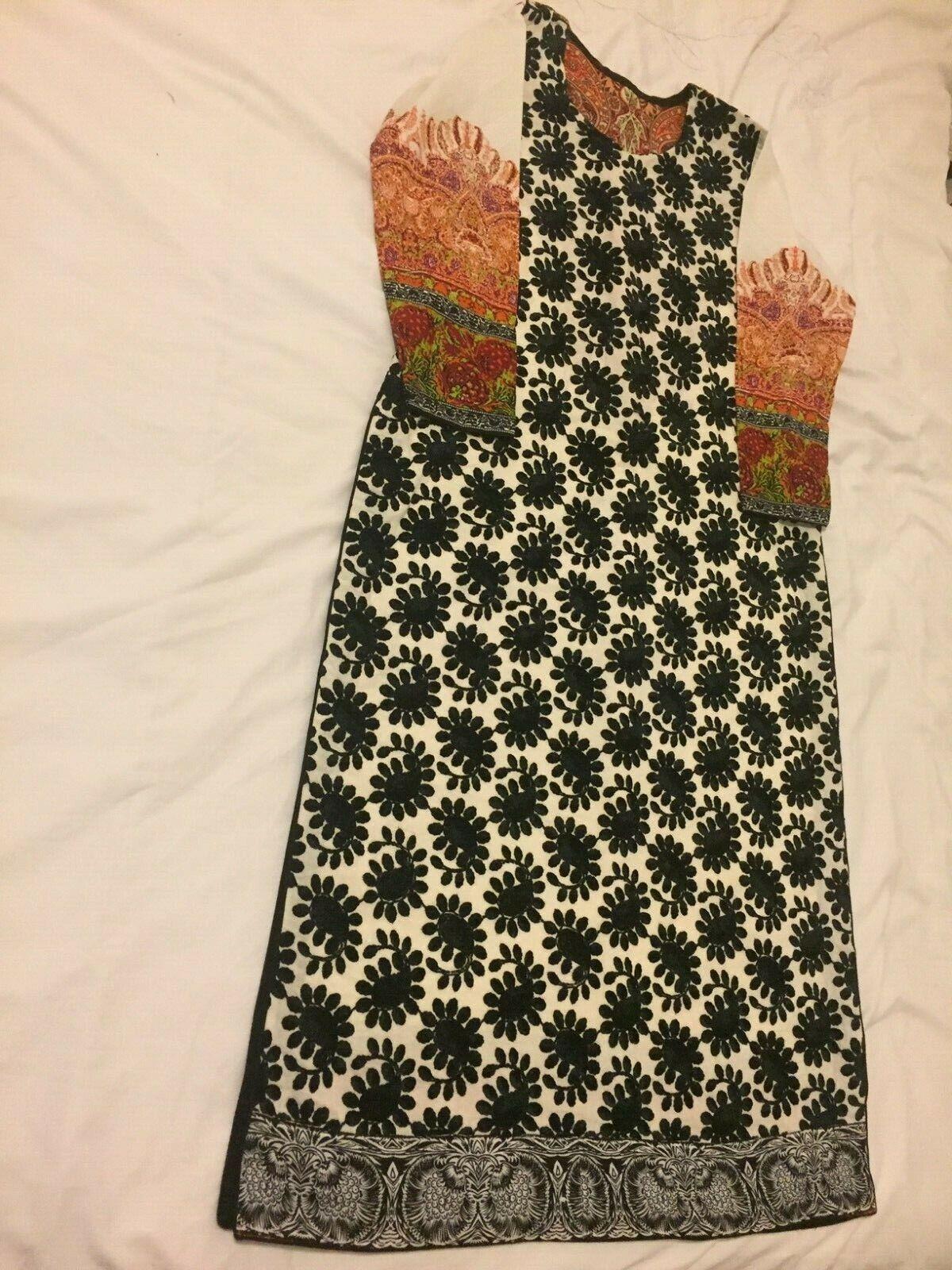 Ladies Asian Original Sana Safinaz Full Suit with Dupatta and Trousers