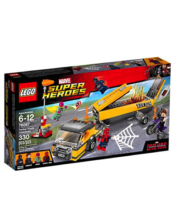 LEGO Super Heroes - 76067 Tanker Truck Takedown (New & Sealed)
