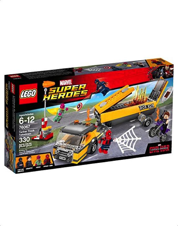 LEGO Super Heroes - 76067 Tanker Truck Takedown (New & Sealed)