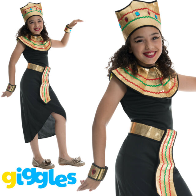 Kids Caribbean Pirate Maiden Girls Child Fancy Dress Costume 3-13 Years