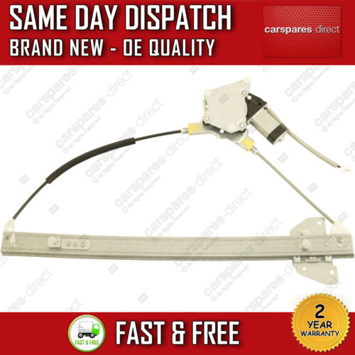 FOR MAZDA MPV MK2 1999/>2006 FRONT RIGHT SIDE WINDOW REGULATOR WITH 2 PIN MOTOR