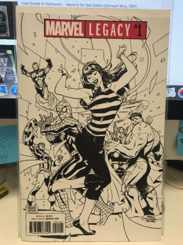 Marvel Legacy #1 RARE Terry Dodson Party Sketch Variant Cover
