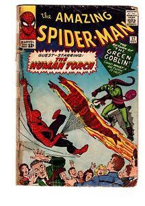 Amazing-Spider-Man-17-2nd-Green-Goblin-Fair-Good-Cond-FREE-SHIPPING