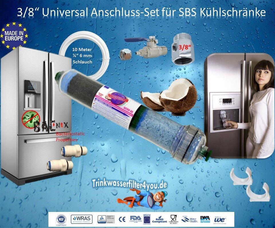 SBS Kühlschrank Anschluss  3 8    für SBS Kühlschrank Kühlschrankanschluss e641b8