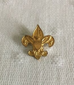 Vtg Boy Scouts First Class Rank Badge Pin Small BSA Pin Be Prepared Pat 1911