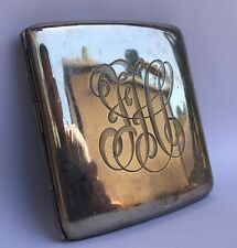 Vintage ART DECO Sterling Silver 925 Cigarette Case 90.5 grams