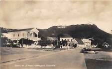 CARTAGENA, COLOMBIA, STREET VIEW & CERRO DE LA POPA, REAL PHOTO PC, c. 1904-14