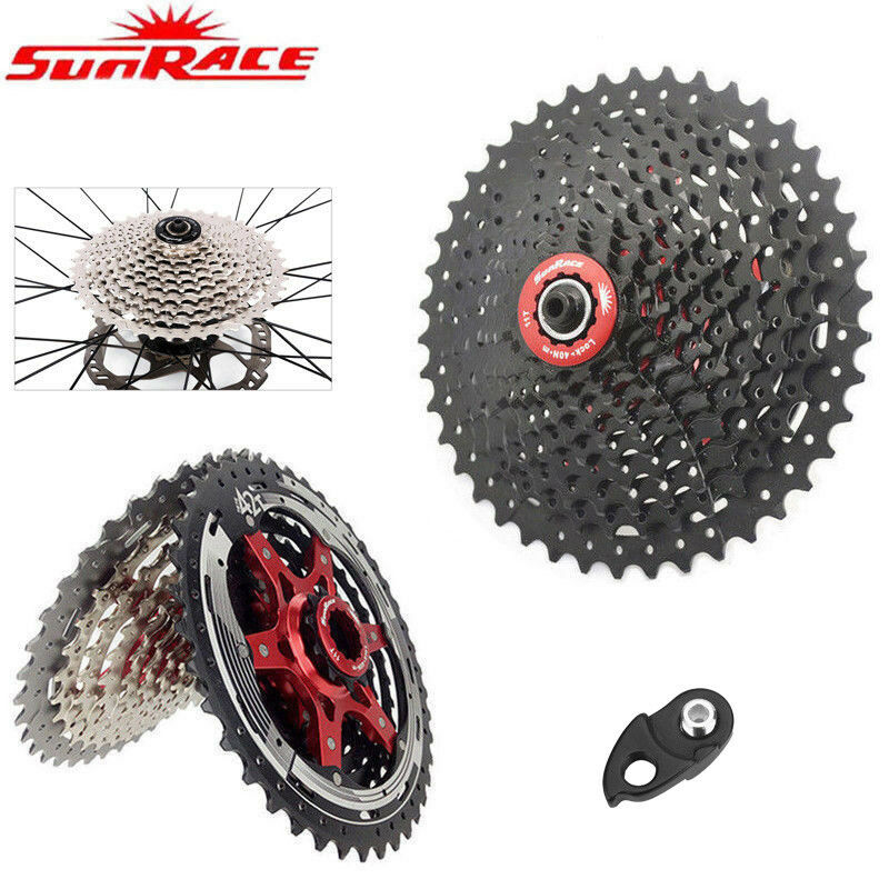 SunRace 8 9 10 11 Speed MTB Bike Cassette Bicycle Flywheel fit Shimano SRAM