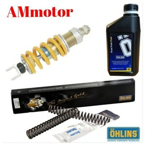 Kit-Ohlins-MT-09-14-2014-Suspension-Absorber-Shock-Fork-Springs-Oil-Amortiguador