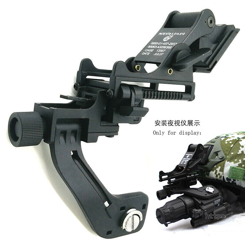 Tactical Helmet Metal Mount  + J arm for Single tube NVG GS1x20 pulsar  up to 50% off