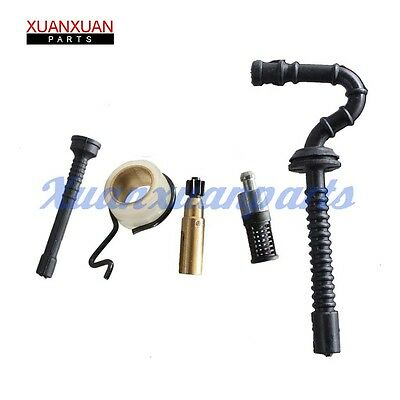 Oil Pump Worm Gear Oil Line Oil Filter For Stihl Ms250 Ms230 Ms210 025 023 021