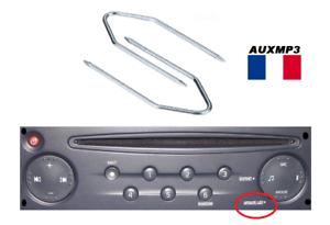 2-Cles-clef-extraction-autoradio-renault-update-list-2x2-trous-demontage-poste