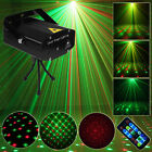 Sounds Active LED Stage Lighting R&g Laser Projector Disco Party UK Plug Remote
