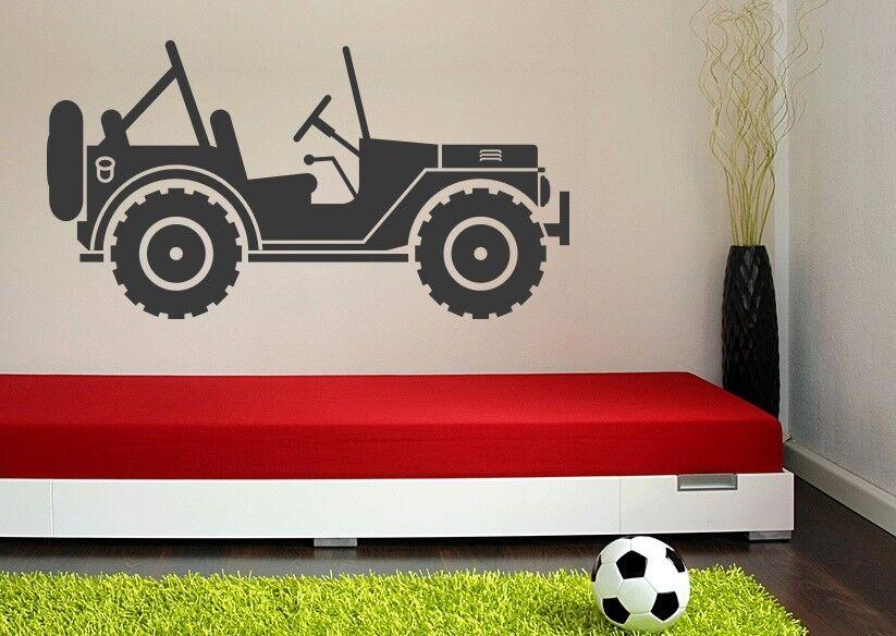 Jeep Decal, Jeep Wand Kunst, Nursery Wand Decal, Safari Wand Decal, Safari Nursery