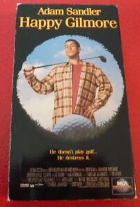 VHS-Movie-Happy-Gilmore-Adam-Sandler-He-Doesn-039-t-Play-Golf-He-Destroys-It