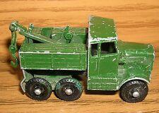 Lesney Scammel Breakdown Truck No 64 Matchbox Superfast
