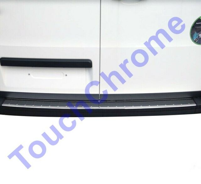 2017Up VW Crafter Chrome Rear Bumper Protector Scratch Guard S.Steel