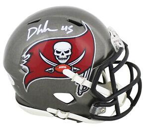Buccaneers Devin White Authentic Signed Speed Mini Helmet BAS Witnessed