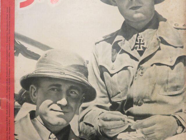 Rivista italiano e tedesco WEHRMACHT AFRIKA KORPS Seconda Guerra Mondiale 1941