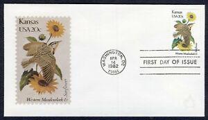 #1968A 20c Kansas, Andrews [111 De 2000] FDC Cualquier 5=
