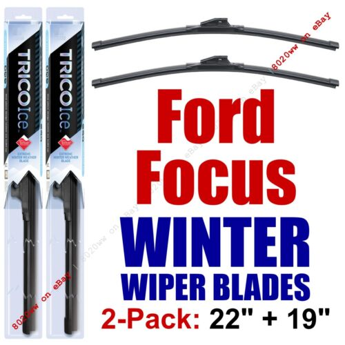 2000-2011 Ford Focus WINTER Wipers 2-Pack Super-Premium Wiper Blades 35220//35190