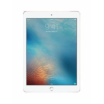 Apple iPad Pro 1st Gen. 32GB, Wi-Fi + Cellular (Unlocked), 9.7in - Rose Gold