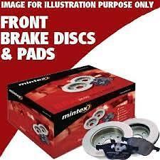 VOLKSWAGEN GOLF MK5 MKV 2.0 GTi  MINTEX FRONT BRAKE DISC 312MM AND PADS SET 04-