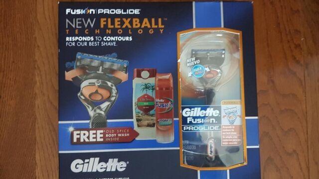 Gillette Fusion Proglide Gift Set (3 Piece)