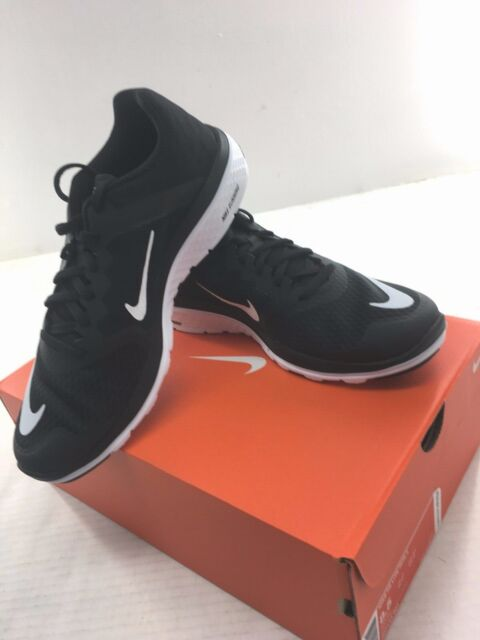 new concept 9dc22 b01d0 NIKE FS Lite Run 3 Synthetic / Mesh Mens Running Shoe Black / White New